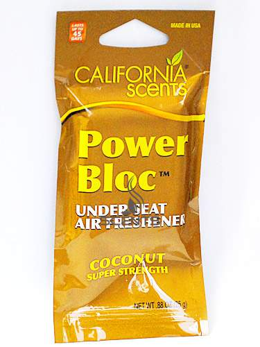 Ароматизатор Power Bloc California Scents Coconut